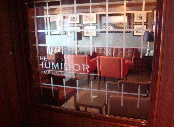 The Humidor Cigar Lounge on Norwegian Getaway