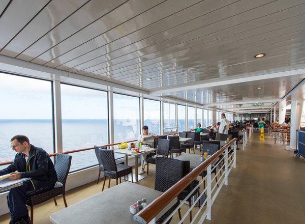 Open-Air Garden Café on Norwegian Getaway