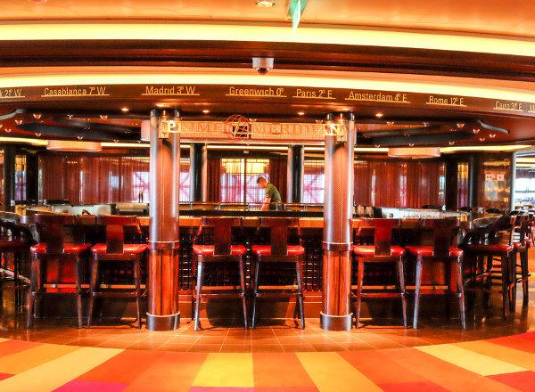 Prime Meridian Bar on Norwegian Getaway