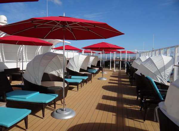 The Haven Private Sundeck on Norwegian Getaway