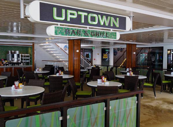 Uptown Bar & Grille on Norwegian Getaway