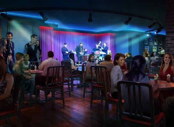 Fat Cats Jazz & Blues Club on Norwegian Getaway