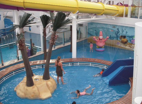 Aqua Park on Norwegian Getaway