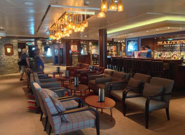Maltings Beer and Whiskey Bar on Norwegian Getaway