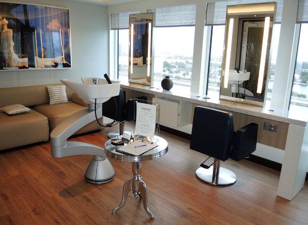 Salon on Norwegian Getaway