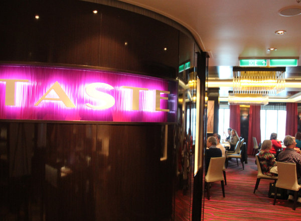 Taste Restaurant on Norwegian Getaway
