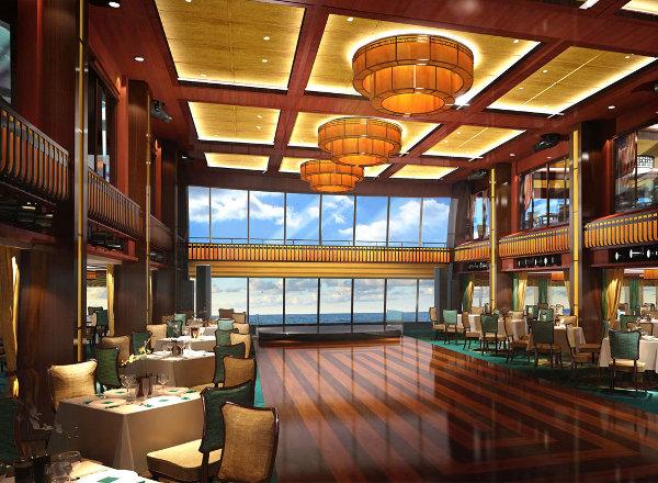 The Manhattan Room Restaurant on Norwegian Getaway