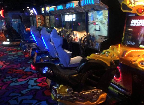 Video Arcade on Norwegian Getaway