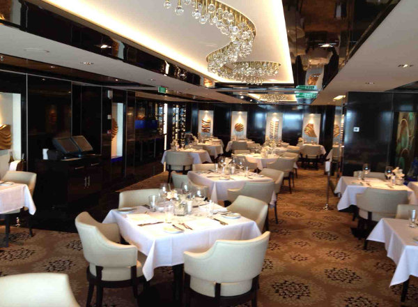 The Haven Restaurant on Norwegian Getaway
