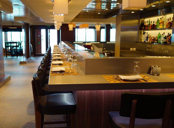 The Raw Bar on Norwegian Getaway