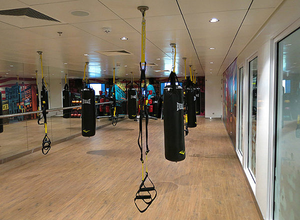 Fitness Center on Norwegian Getaway