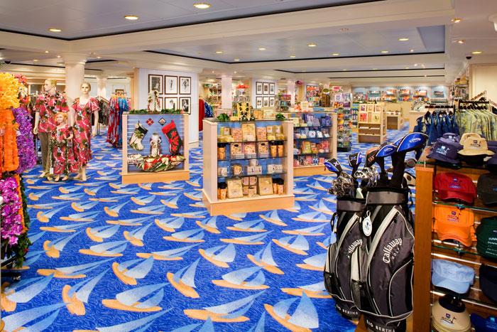 Galleria Shops on Norwegian Jade