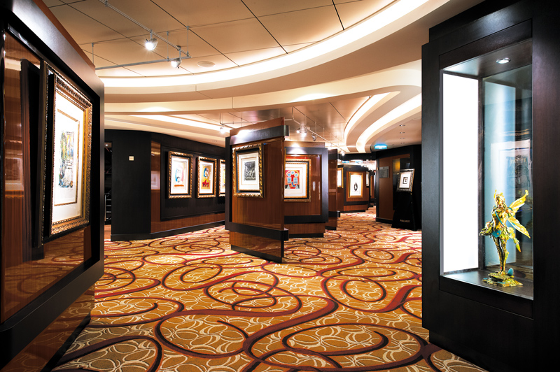 Art Gallery on Norwegian Jade