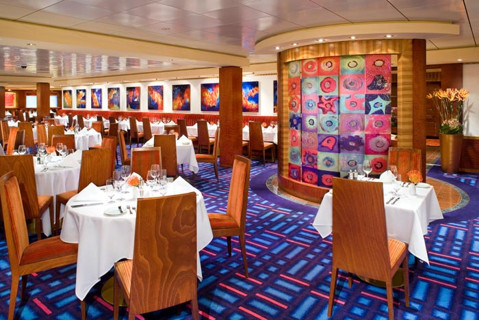 Alizar Main Dining Room on Norwegian Jade