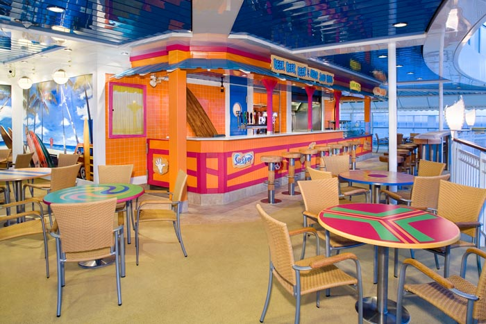 Bali Hai Bar And Grill on Norwegian Jade