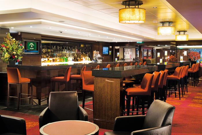 Maltings Whiskey Bar on Norwegian Jewel