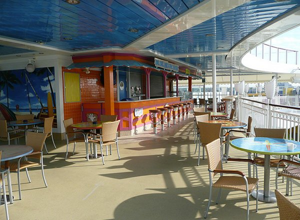 Sky High Bar and Grill on Norwegian Jewel