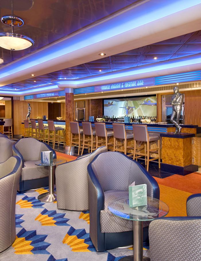 Shaker''s Martini Bar on Norwegian Jewel