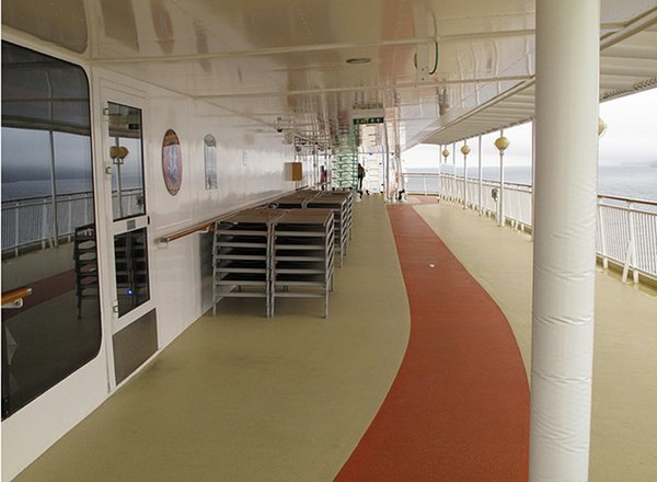 Jogging Track on Norwegian Pearl