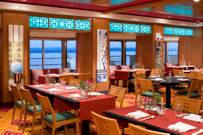 Lotus Garden Asian Restaurant on Norwegian Pearl