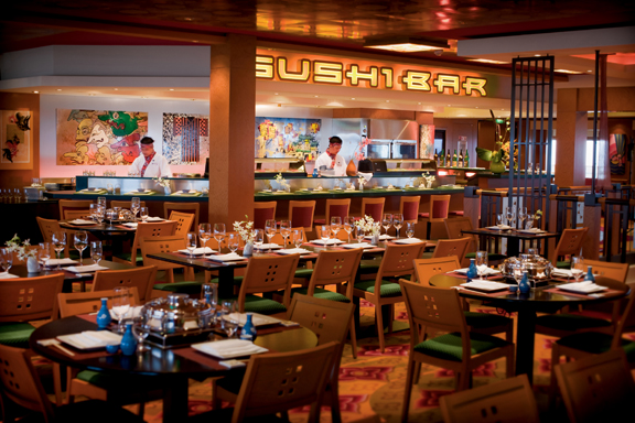 Sushi Bar on Norwegian Pearl