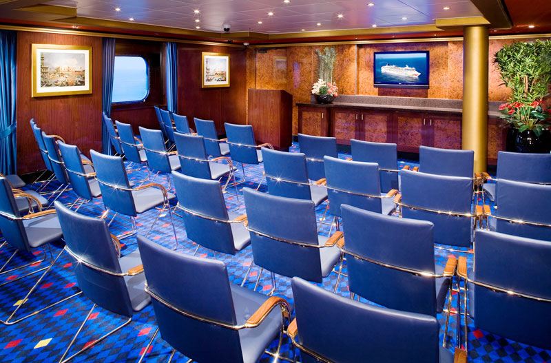 Conference Center on Norwegian Pearl