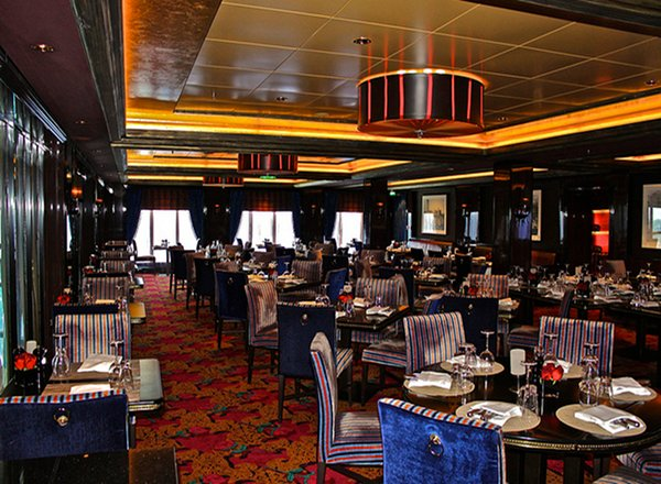 Cagney''s Steakhouse on Norwegian Pearl