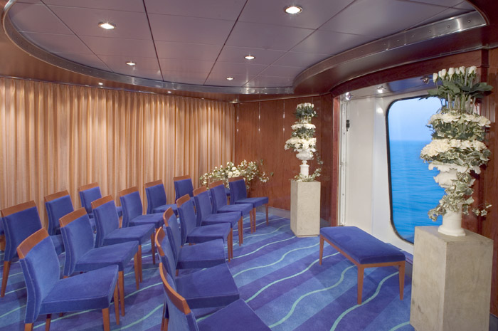 The Chapel on Norwegian Pearl