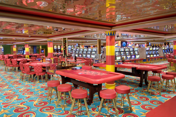 Casino on Norwegian Pearl