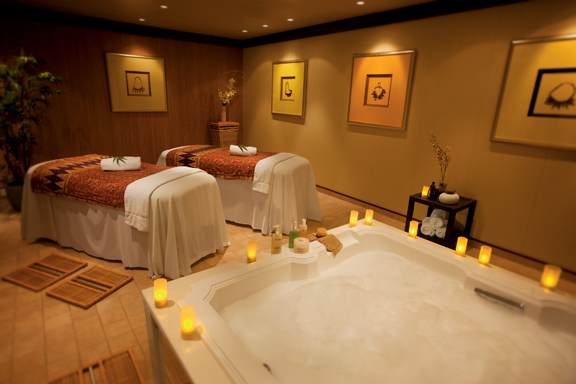 Spa on Norwegian Pearl