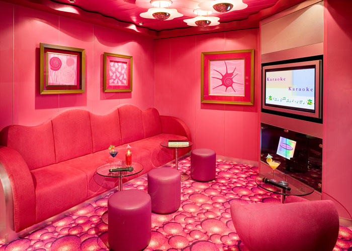 Karaoke Rooms on Norwegian Spirit