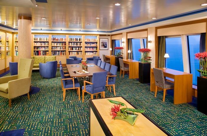 East Indies Library on Norwegian Spirit