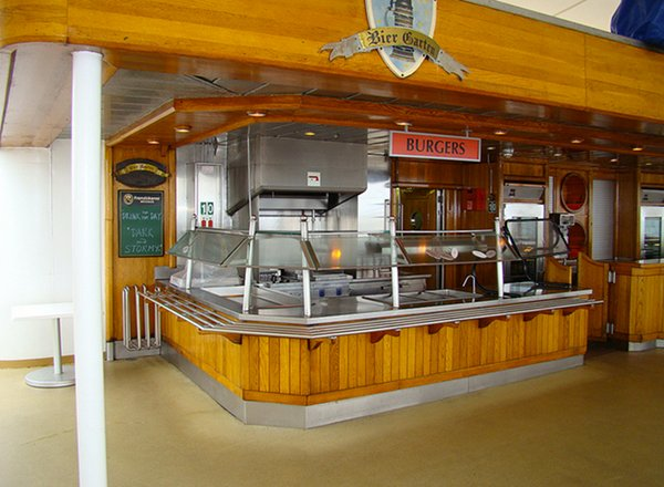 Bier Garten Grill on Norwegian Spirit