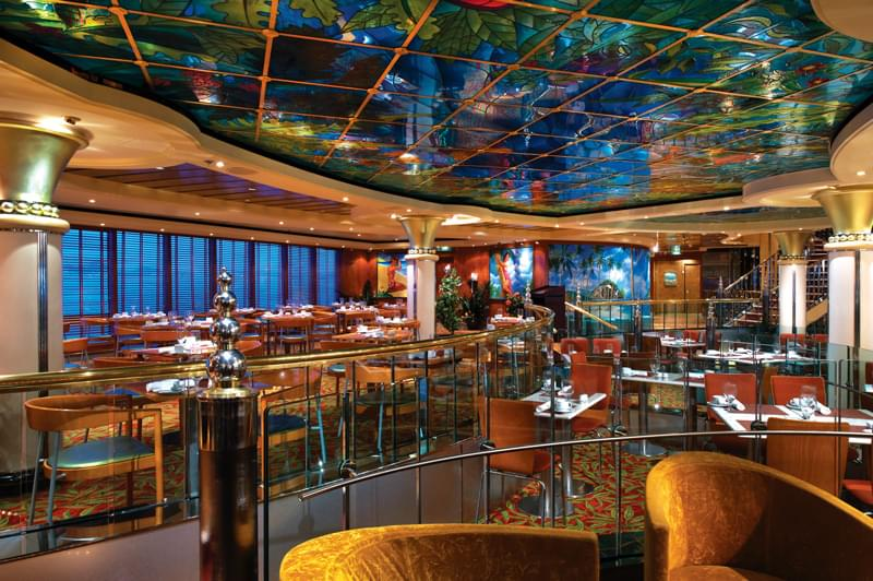 Blue Lagoon Cafe on Norwegian Star