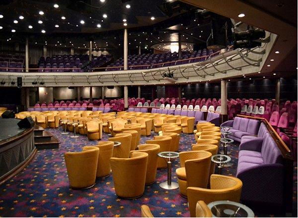 Stardust Lounge on Norwegian Sun