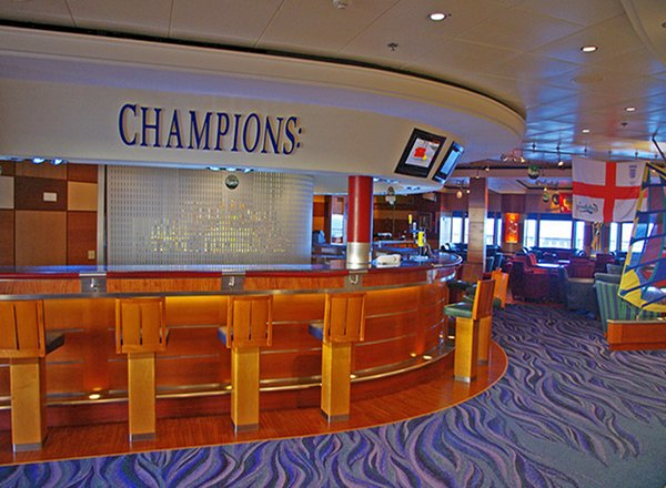 Champs Bar on Norwegian Sun