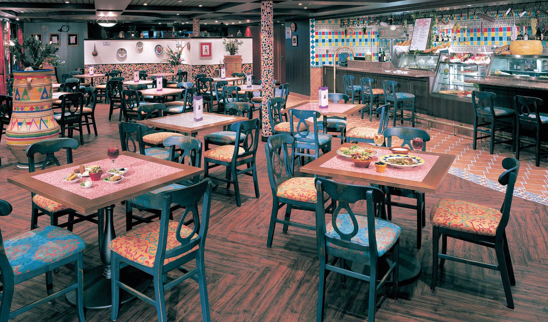 Las Ramblas Tapas Bar on Norwegian Sun