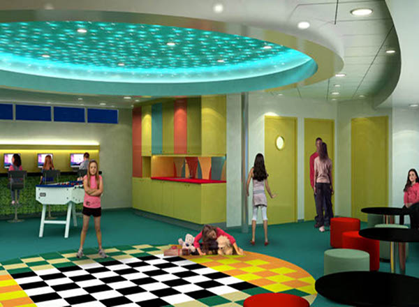 Imagination Studio on Oasis of the Seas