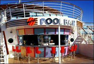 Pool Bar on Oasis of the Seas