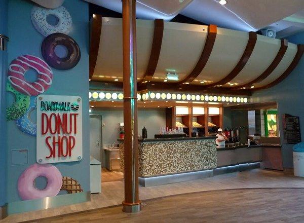 Boardwalk Donut Shop on Oasis of the Seas