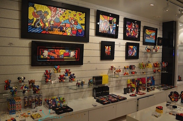 Britto Shop on Oasis of the Seas