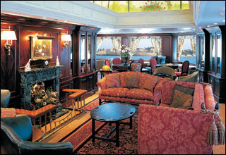 The Library on Ocean Princess
