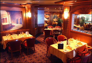 Sterling Steakhouse on Ocean Princess