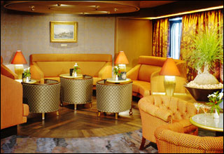 Explorer''s Lounge on Oosterdam