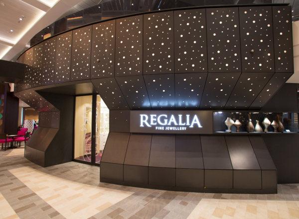 Regalia Fine Jewelry on Ovation of the Seas