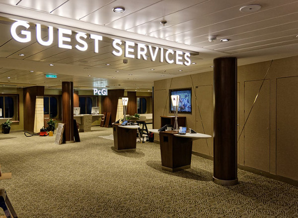 Guest Services on Ovation of the Seas