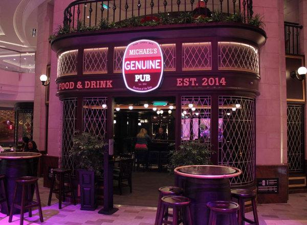Michaels Genuine Pub on Ovation of the Seas
