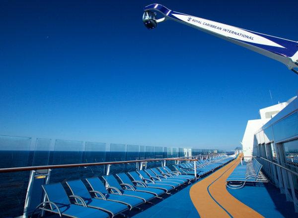 Running Track on Ovation of the Seas