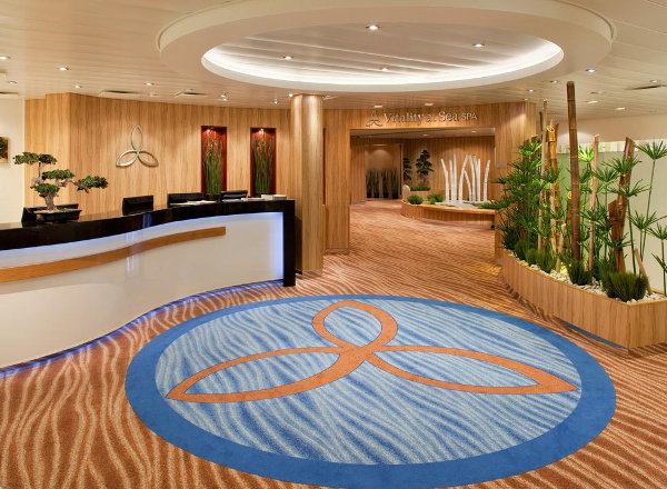 Vitality at Sea Spa and Fitness Center on Ovation of the Seas