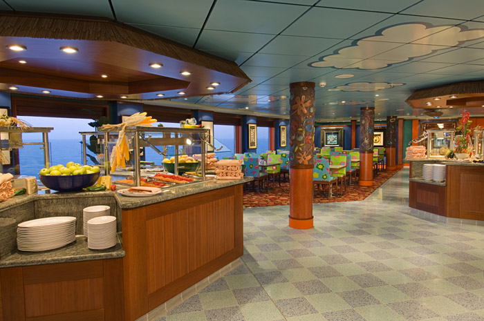 Aloha Cafe on Pride of America